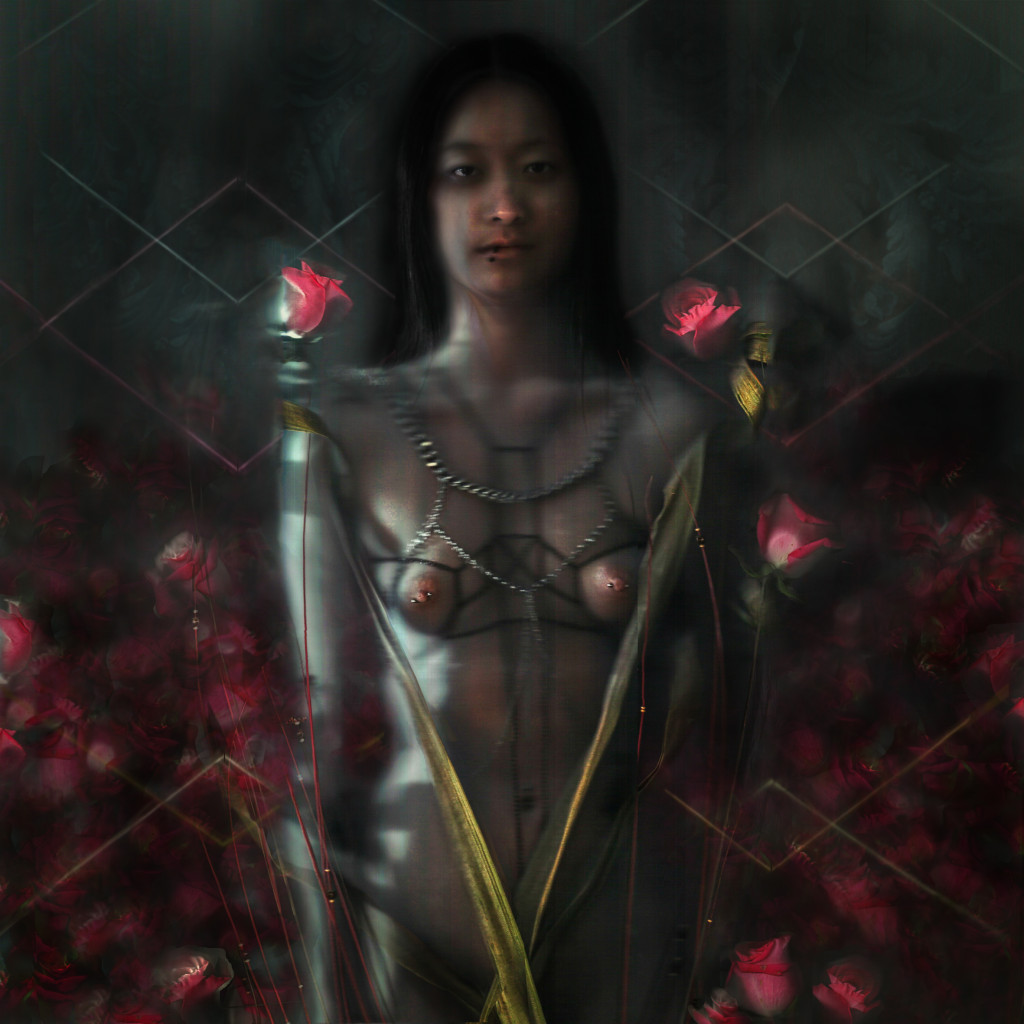 rose and chain